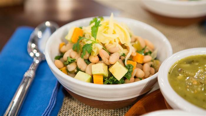 Slow Cooker White Bean and Kale Chili - TODAY.com