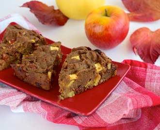 Gluten Free Pumpkin Apple Raisin Cake