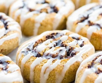 Healthy Cinnamon Rolls (Paleo, Low Carb, Sugar-free)
