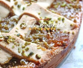 Scharfer Birnenkuchen * recipe * spicy hot pear cake