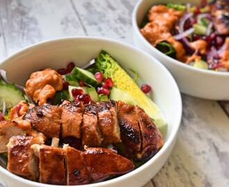 Marinated chicken salad