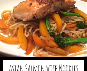 Asian Salmon with Noodles
