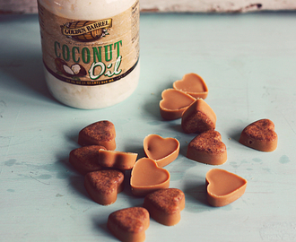 Peanut Butter Coconut Oil Dog Treats