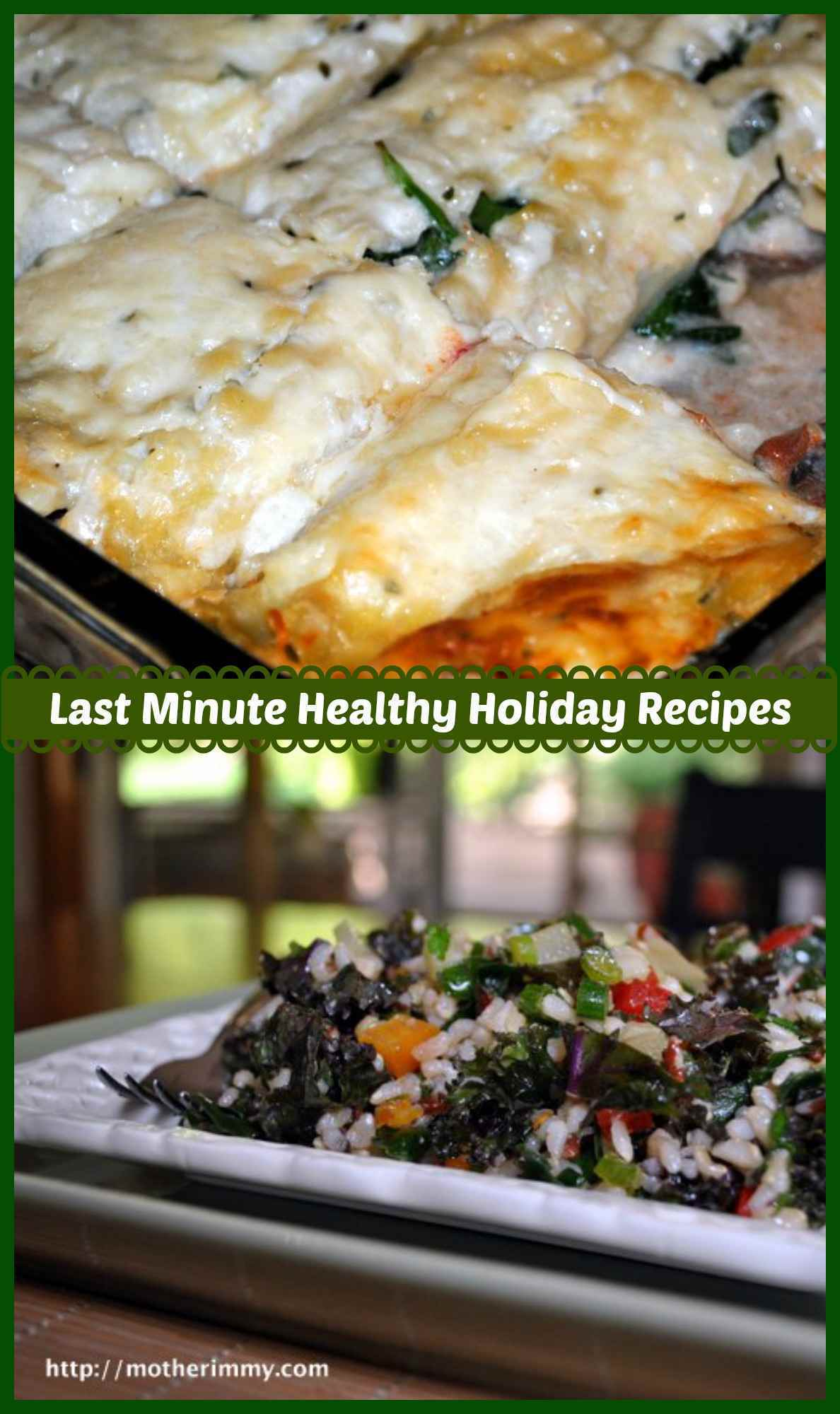 Last-Minute Healthy Holiday Recipes
