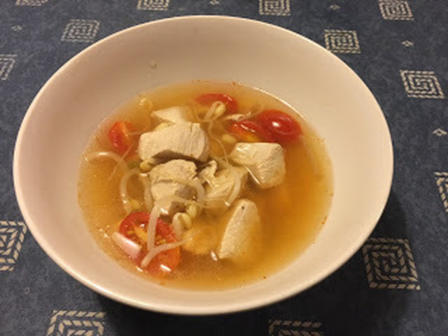 Tom Yum Gai/ Kycklingsoppa thai