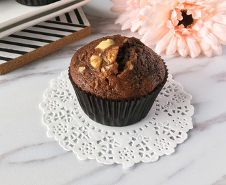 Coffee Banana Muffins