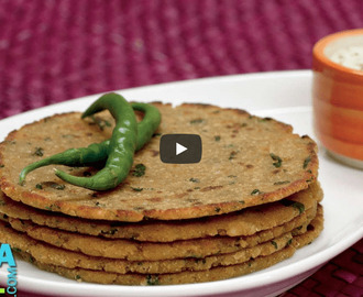 Rice and Soya Paratha Recipe Video
