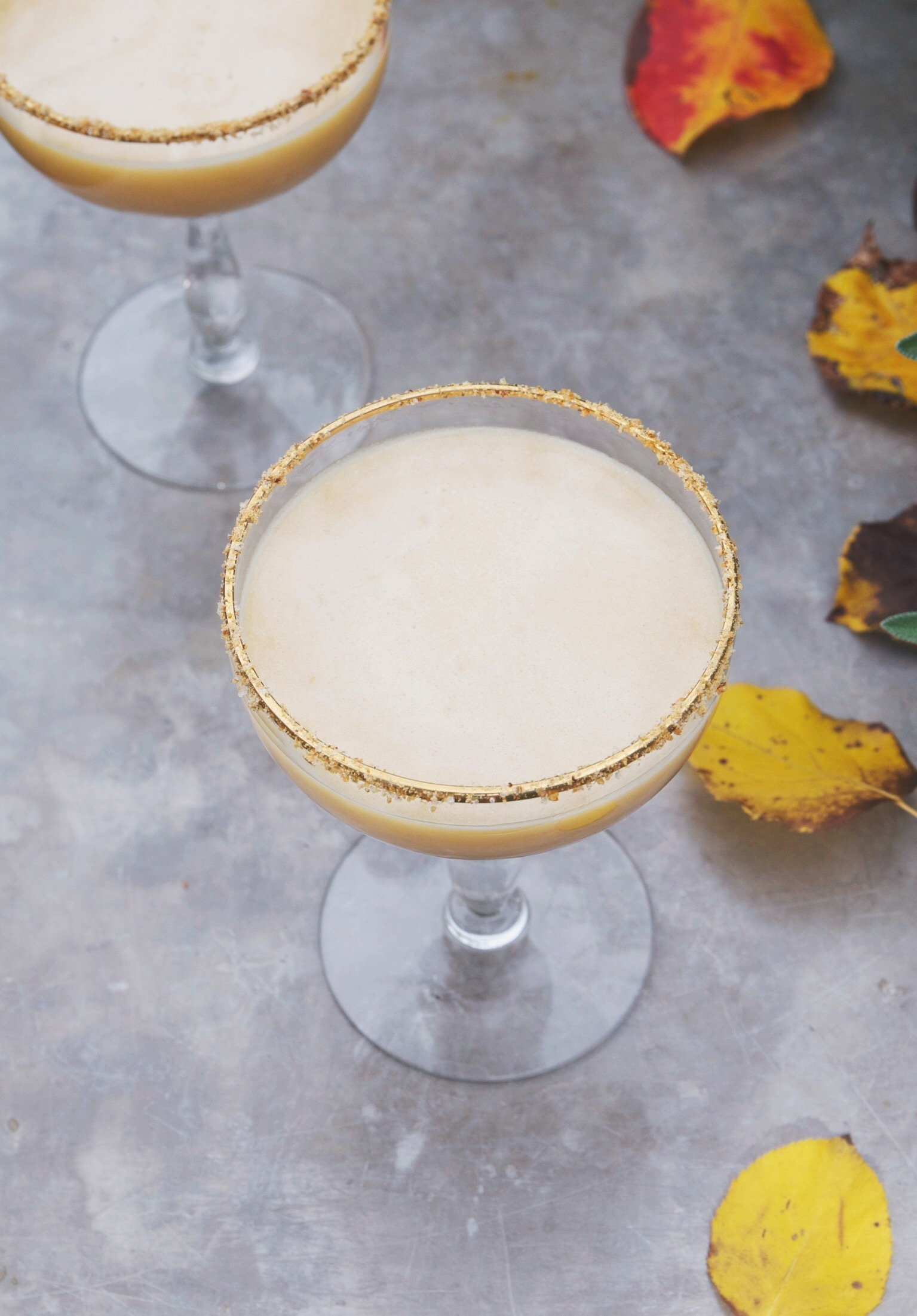 Comment on pumpkin pie martini with coconut cream + homemade pumpkin spice syrup by Halloween & Autumn Bar Cart Styling | : with a few of our favorite spooky cocktails from around the web!Stir and Strain