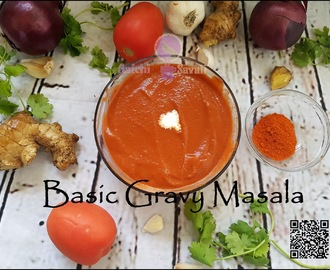 Instant and All Season : Basic Curry Sauce | Basic Gravy Masala