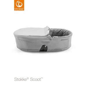 Stokke Scoot Liggdel Grey Melange Scoot Carry Cot Grey Melange