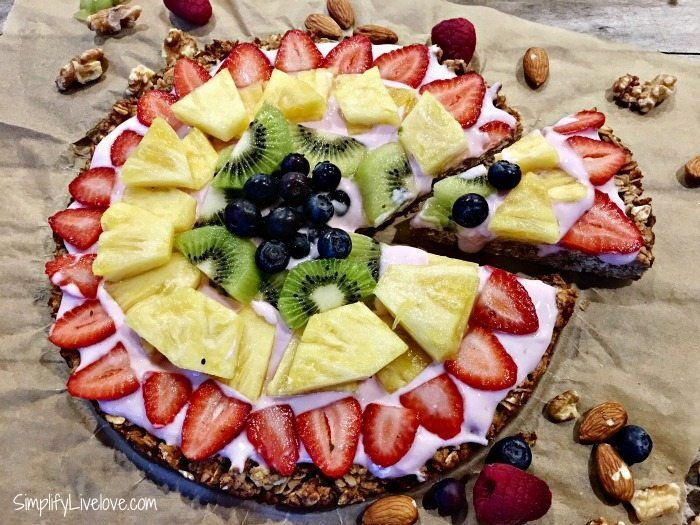 Make Breakfast Fun with Kid-Friendly Granola Fruit Pizza