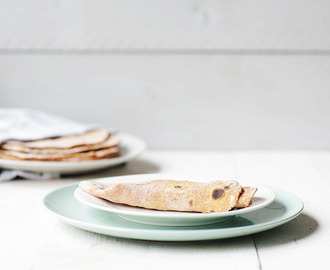 Soft sweet potato flatbread
