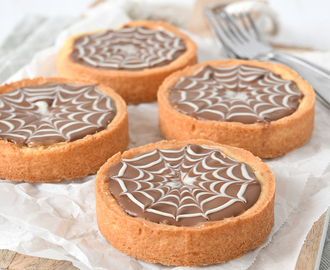 Spinnenweb mini caramel shortbread
