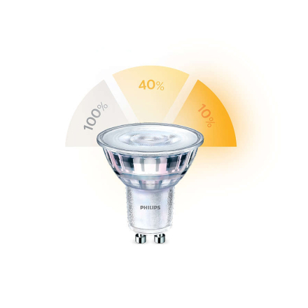 Philips LED-lampa SceneSwitch GU10 50W 4st