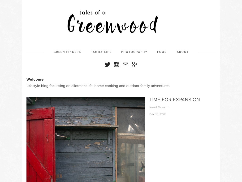 Tales of a Greenwood