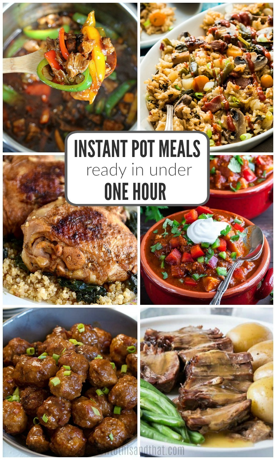 Instant Pot Recipes Ready in Under 1 Hour