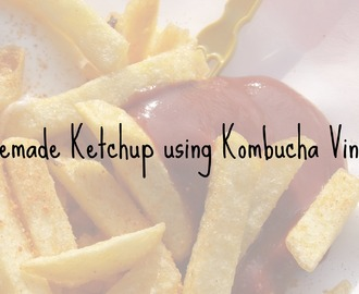 Recipe: Homemade Ketchup using Kombucha Vinegar