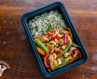 Spicy & Light Kung Pao Chicken Meal Prep - Fit Men Cook