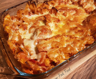 Slimming World Friendly Recipe: Creamy Chicken, Bacon and Tomato Pasta Bake
