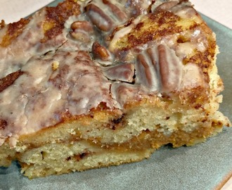 Coffee Cake with a Pumpkin Pie Layer