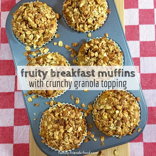 Awesome breakfast muffins with hidden fruit & veg – sugar free!