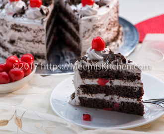 Black Forest cake/ Super Moist Black Forest cake - MeemisKitchen