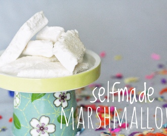 Selfmade Marshmallows