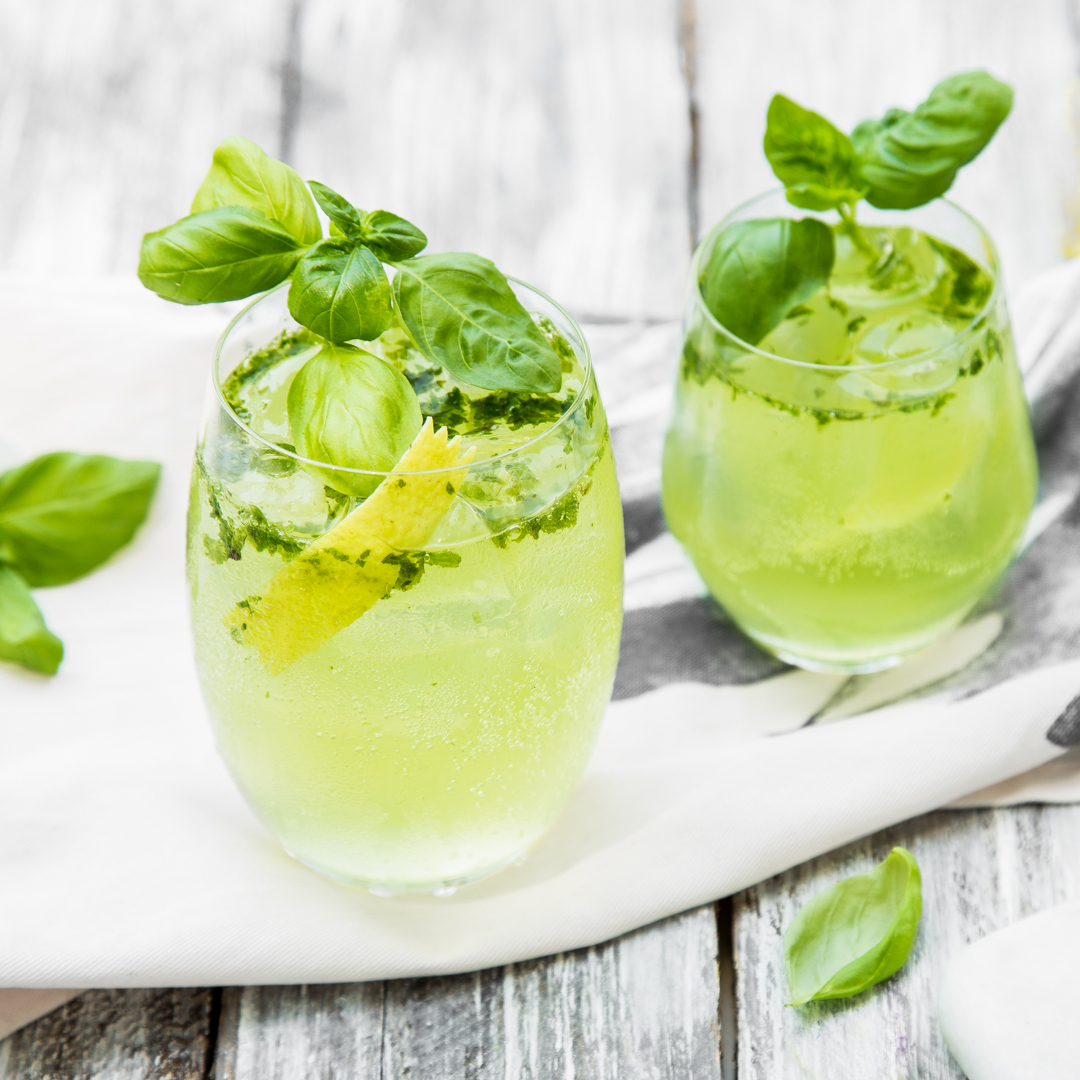 Lemon & Basil Gin Tonic