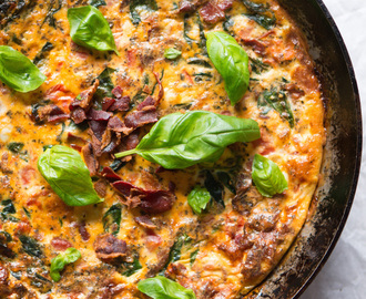 Culy Homemade: BLT frittata uit de oven