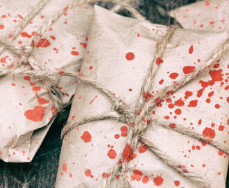 Halloween Blood Splatter Parcels for Trick-or-Treaters