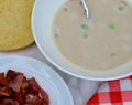 Cauliflower and Smoky Bacon Soup
