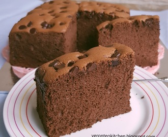Cotton Soft Chocolate Sponge Cake