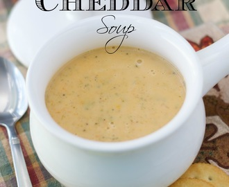 Crockpot Broccoli Cheddar Soup Recipe