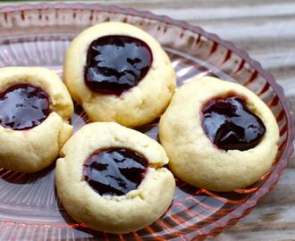 Thumbprint Cookies Two Ways