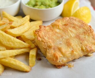 Best Ever Low Syn Fish and Chips Fakeaway Night