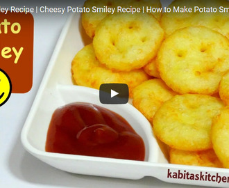 Cheesy Potato Smiley Recipe Video