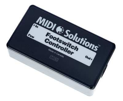 MIDI Solutions Footswitch To MIDI Controller