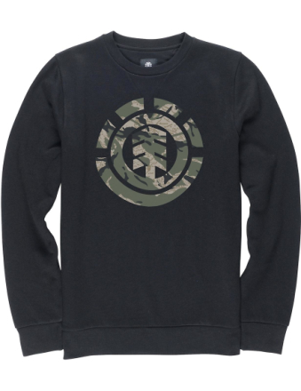 Element Elementet härma Sweatshirt Svart Small