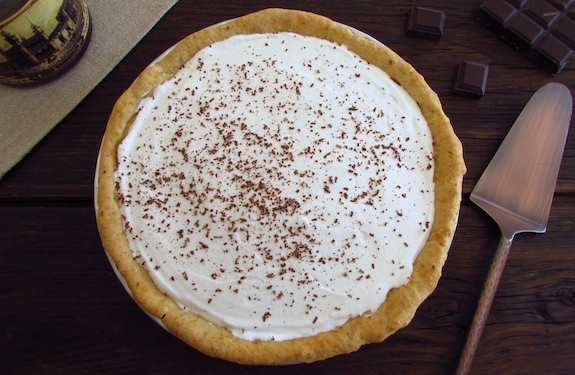 Chocolate and chantilly pie | Food From Portugal