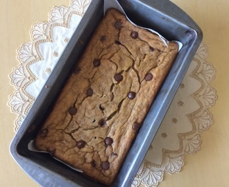 Banana Chocolate Chip Bread Loaf | Moist Chocolate Chip Banana Cake Loaf Recipe | Breakfast Banana Bread Recipes