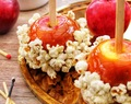 Salted Caramel Popcorn Apples & A Giveaway!
