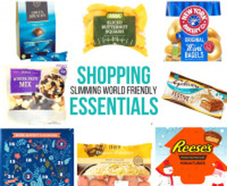 New Slimming World Shopping Essentials 3/11/17
