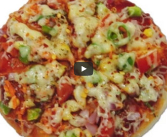 Uttapam Pizza Recipe Video