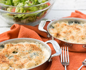 Baked Gnocchi with Fontina & Spinach