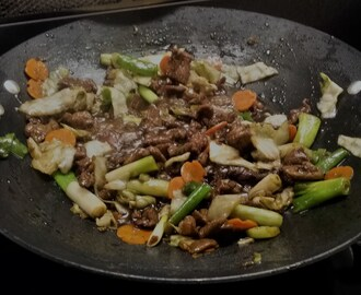"One from Column ""A"" ~ Mongolian Beef"