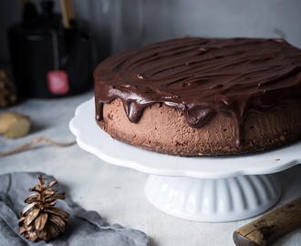 Chocolate Chai Cheesecake {Werbung}