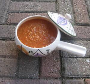 kyckling och linssoppa