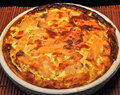Smoked Salmon Quiche; lost in the supermarket