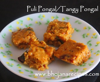 Puli Pongal / Tangy Pongal