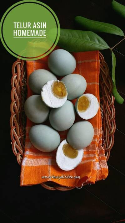 Resep Membuat Telur Asin Homemade Anti Gagal